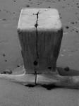 B&W Findhorn Beach