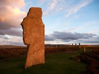 The Ring of Brodgar, Orkney Islands, Scotland
