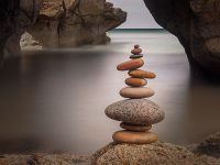 Balanced stones image
